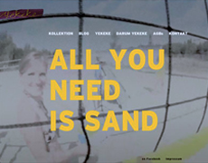yekeke – ALL YOU NEED IS SAND