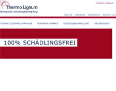 Thermo Lignum – New Typo3 Site