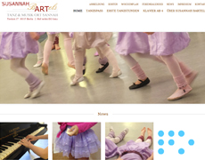 Internetauftritt Kinderkünste Sannah