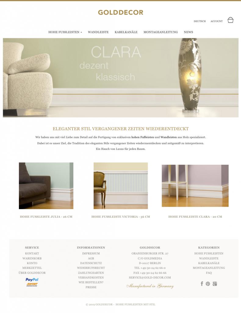 eCommerce Onlineshop mit OxideSales